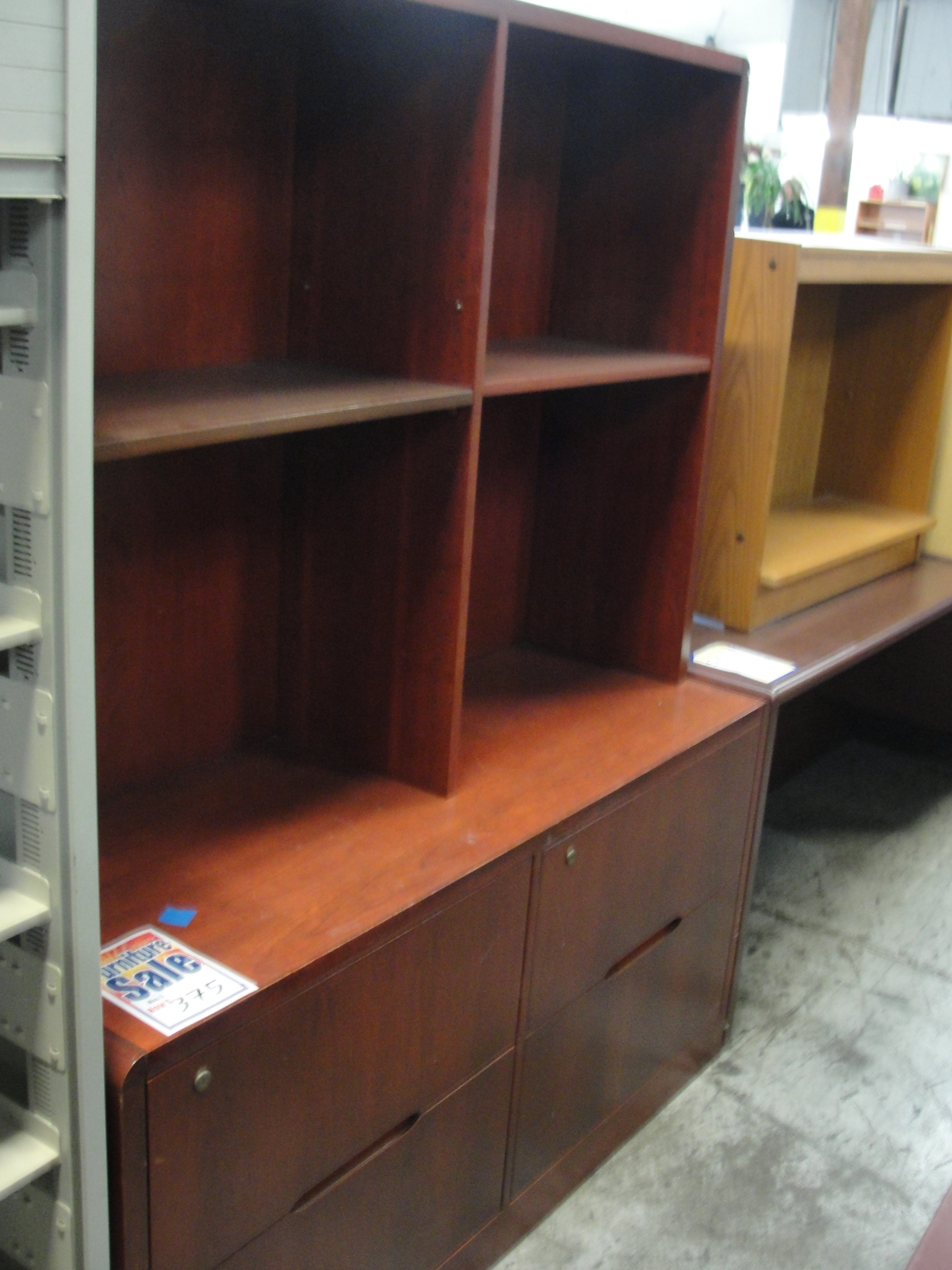 Double Wide Bookcase W Storage 8363 New And Used Office