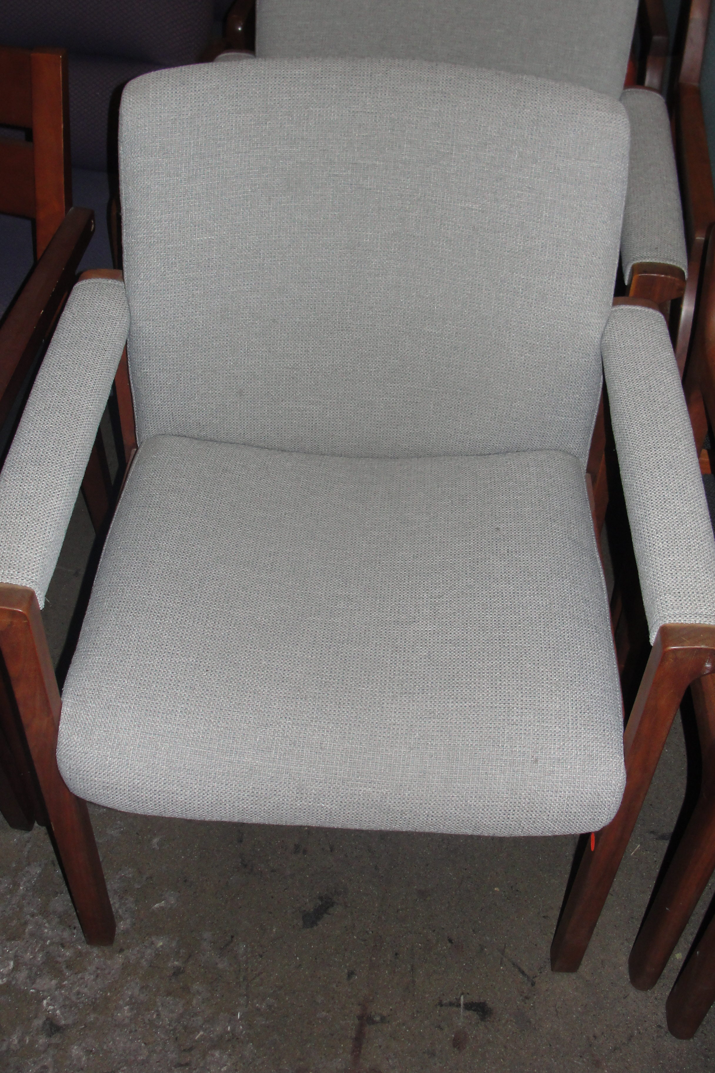 Gray Fabric Guest Chair 8401