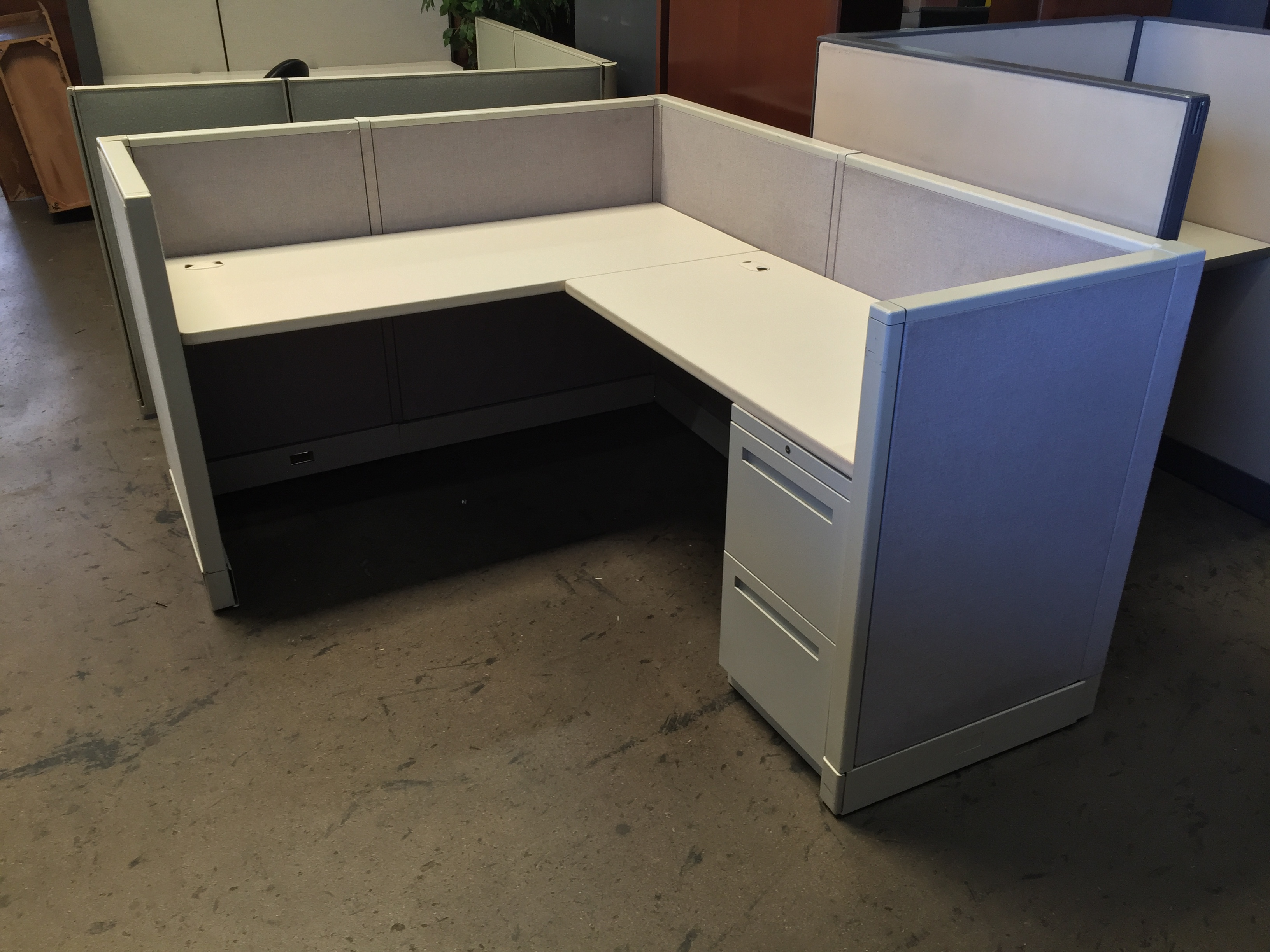 Low Wall Office Furniture In Los Angeles And Orange