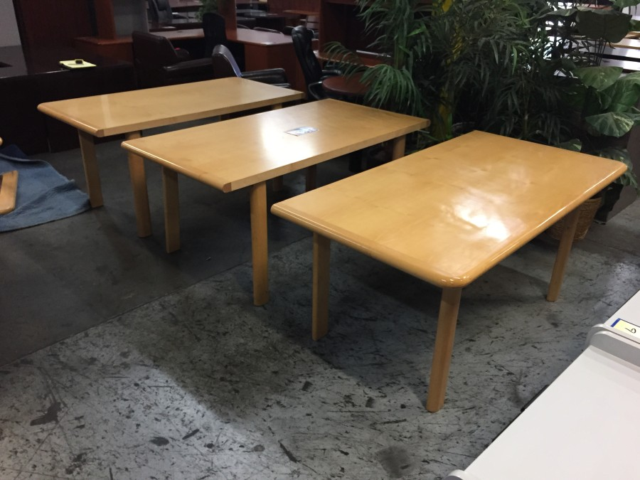 Maple Convertible 3 In 1 Rectangular Table New And Used