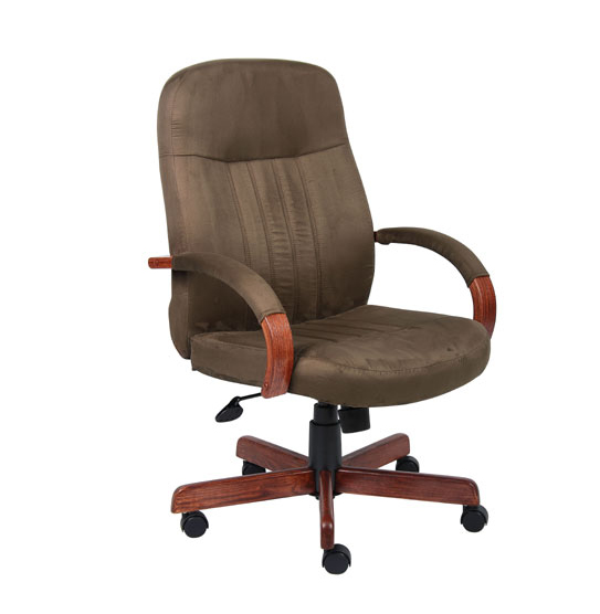New Microfiber High Back Executive Chair By Boss 199 00 Prev