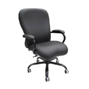 New Black Leather Heavy Duty Executive Chair by BOSS