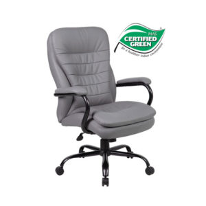 New Heavy Duty Pillow Top Executive Chair by BOSS