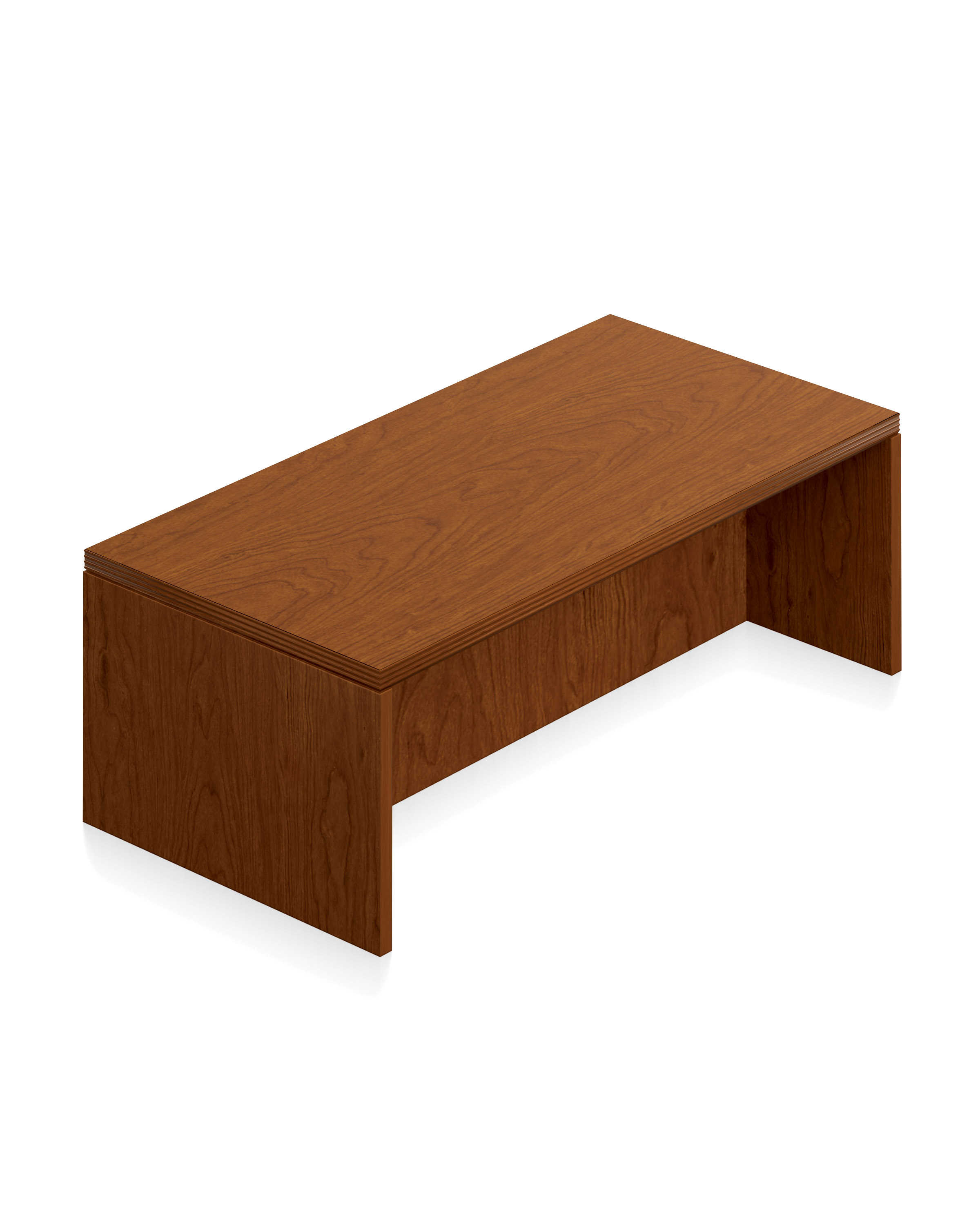 New Real Wood Veneer Coffee Table By Offices To Go New And Used Office Furniture In Los