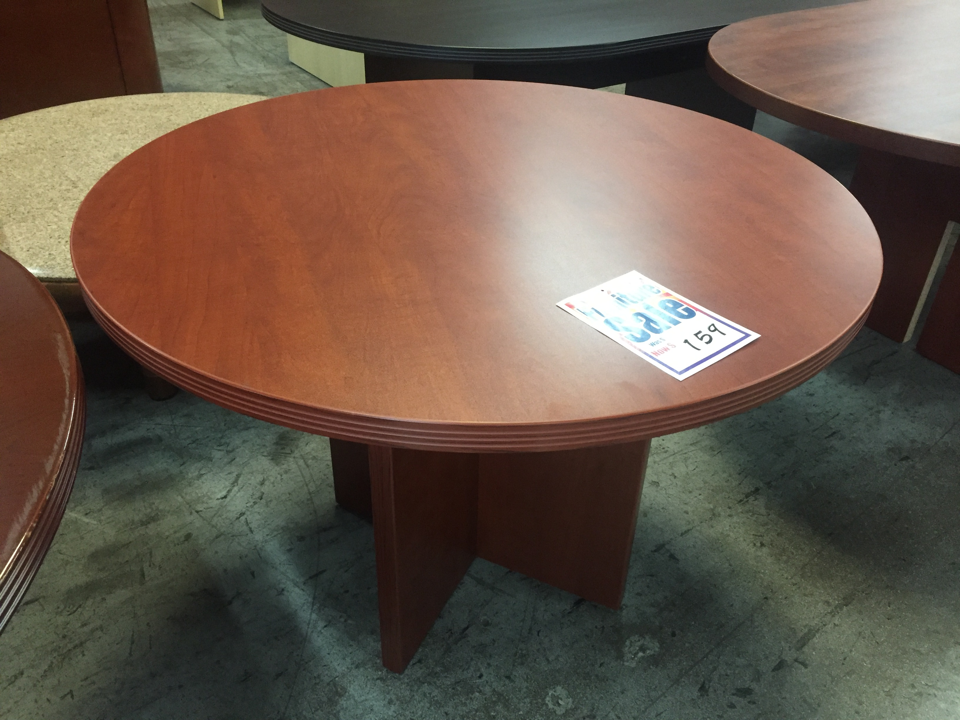 Cherry Round Table New And Used Office Furniture In Los Angeles And Orange County Nationwide