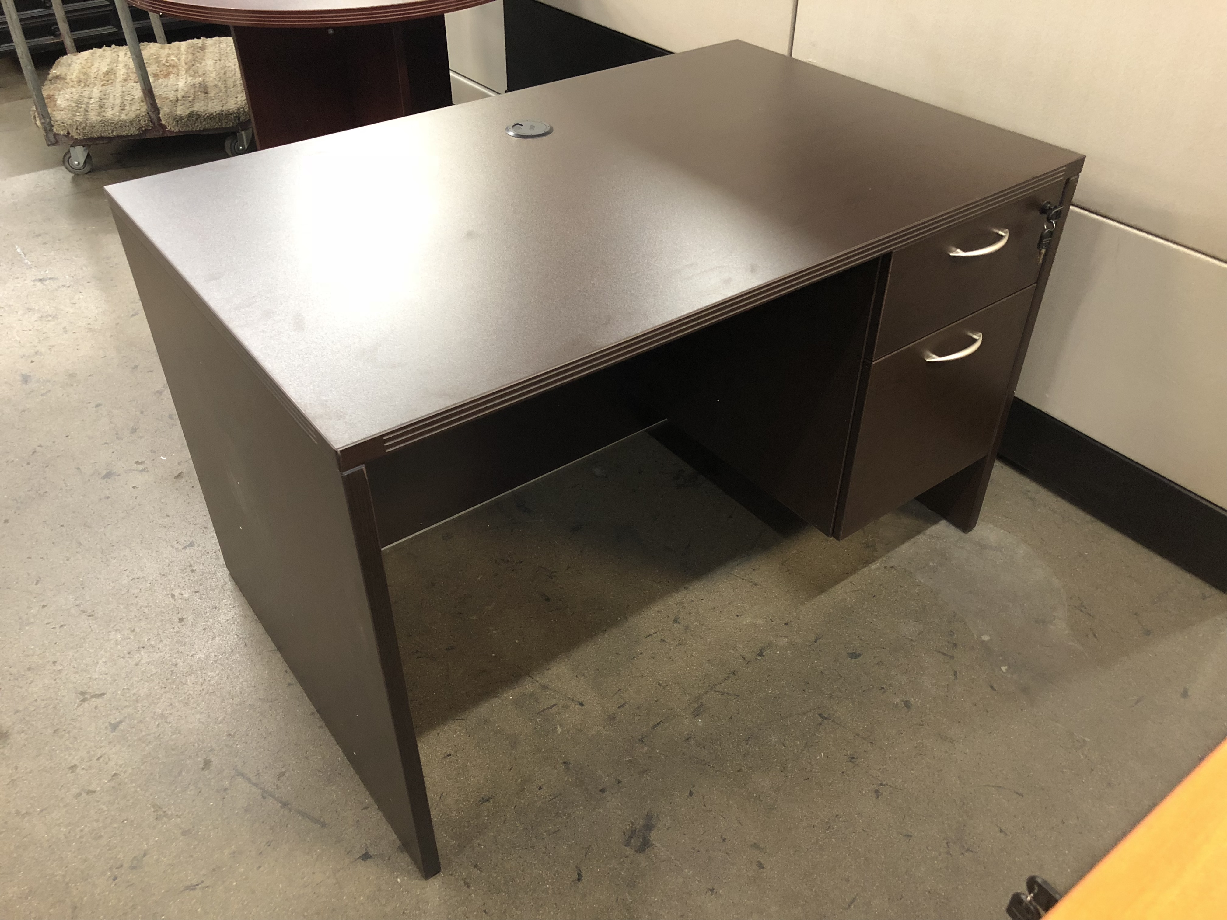 New Napa Series 48 Single Hanging Pedestal Desk By Office