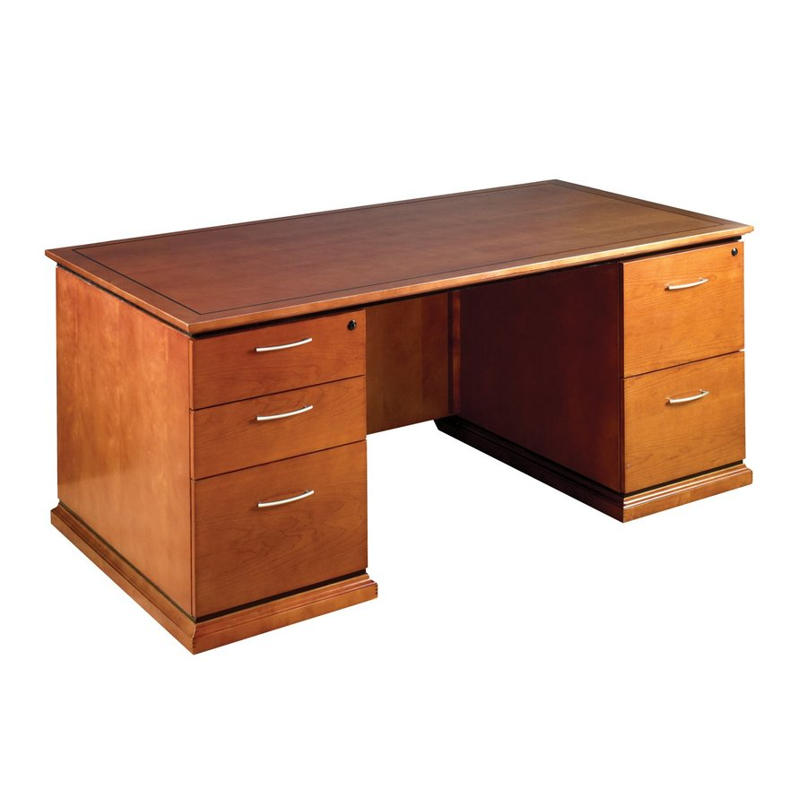 New Mendocino Series Double Pedestal Desk By Office Star