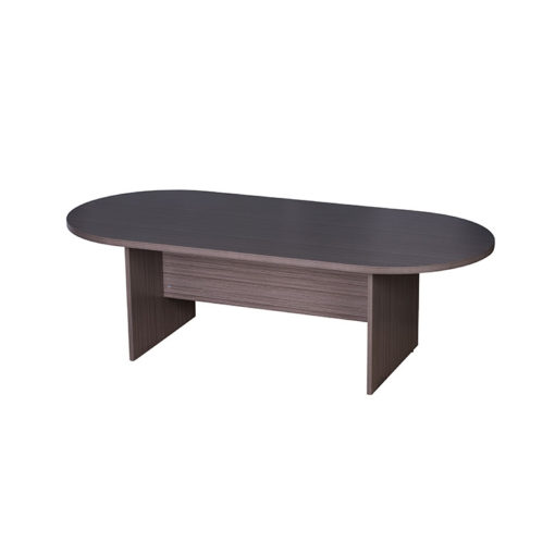 New Driftwood 8′ Racetrack Conference Table by BOSS