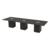 New Tuxedo Series 12′ Rectangular Conference Table by Office Star